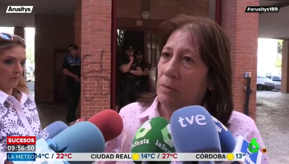 Habla una vecina testigo del crimen de Aranjuez