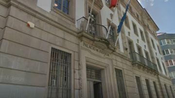 Palacio de Justicia de Pontevedra (Archivo)