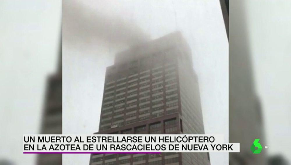 Accidente aéreo en Manhattan: las autoridades descartan el móvil terrorista