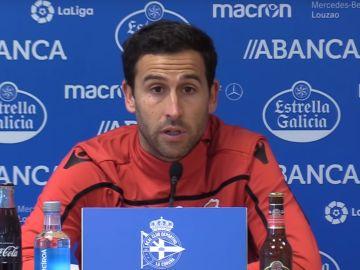 Íñigo López, durante una rueda de prensa