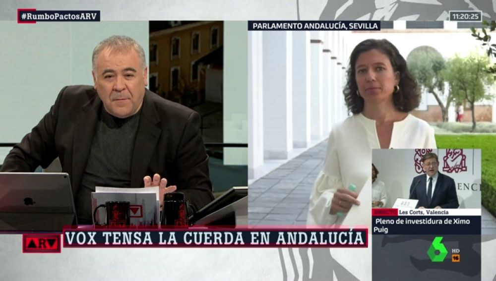 """Isabel Morillo: """"Vox no va de farol en Andalucía, y exige compromiso por escrito para desmantelar los 'chiringuitos' públicos"""""""