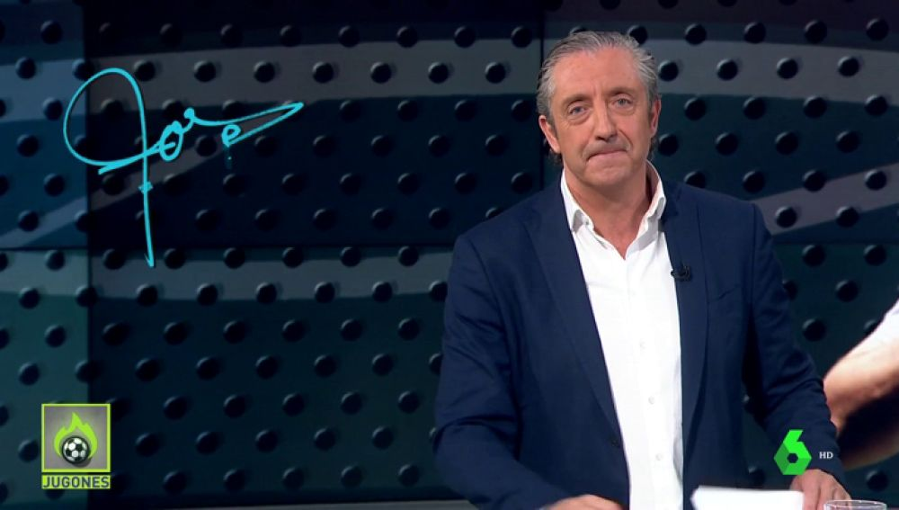 """Josep Pedrerol: """"A Hazard  sólo hay que pedirle una cosa en su presentación. Que sonría un poquito más que Jovic"""""""