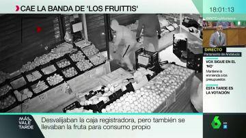 Detienen en Madrid a 'Los fruittis', la banda de jóvenes especializada en robar fruterías
