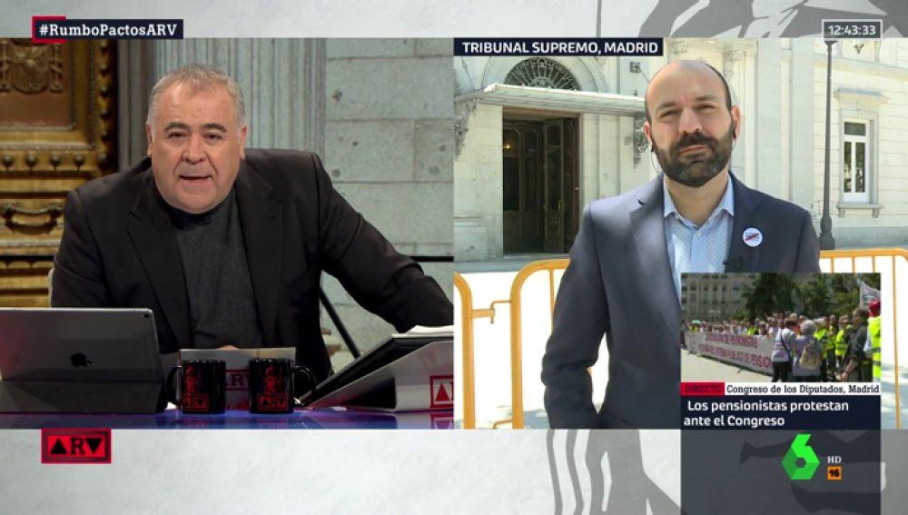 """Marcel Mauri (Òmnium Cultural), sobre el juicio del 'procés': """"Ha sido un juicio político y no va a haber una sentencia justa"""""""