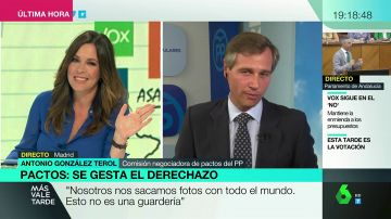 """Antonio González Terol (PP): """"Estamos construyendo el gobierno de Madrid entre tres partidos, aunque dos (Vox y Ciudadanos) no se hablen"""""""