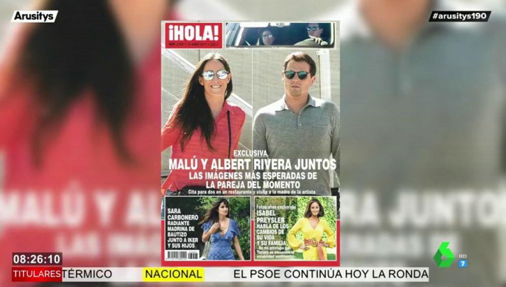 Albert Rivera y Malú: estas son las esperadas imágenes de la pareja del momento