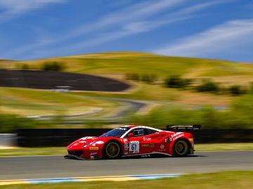Ferrari 61 Blancpain America 2019 Sonoma