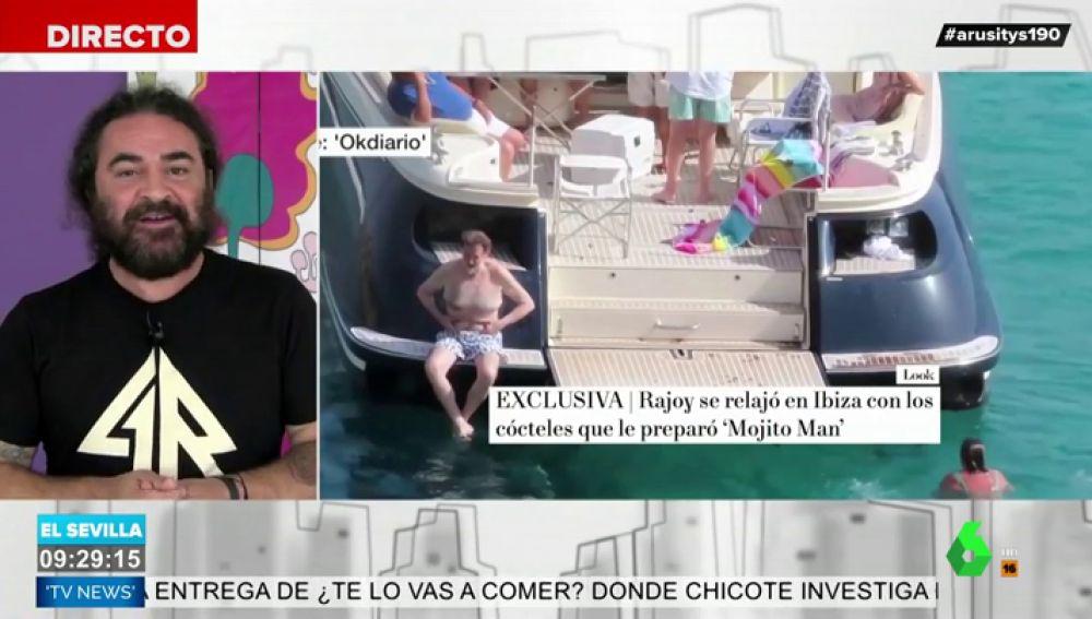 La reflexión de El Sevilla sobre las vacaciones de Rajoy en Ibiza