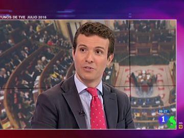 La hemeroteca traiciona a Casado: en 2016 aseguró que el PP facilitaría la investidura del PSOE si ganara las elecciones