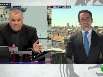 """García Egea (PP), sobre Cs y Vox: """"Tenemos que entendernos para que el Ayuntamiento de Madrid sea de libertad"""""""