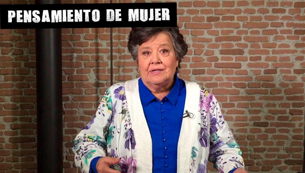 Cristina Almeida reflexiona sobre la violencia