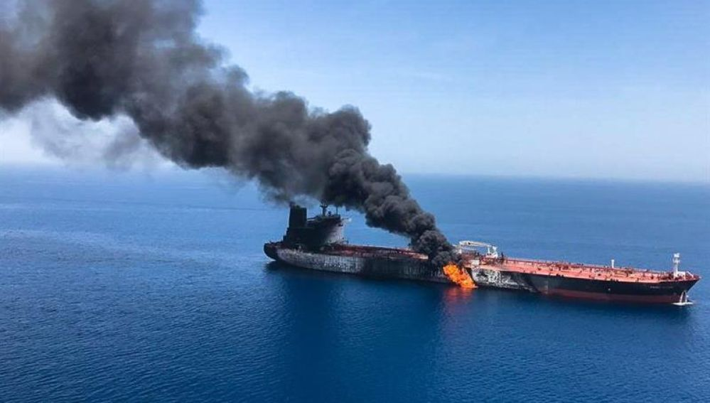 Ataque a un petrolero en Irán