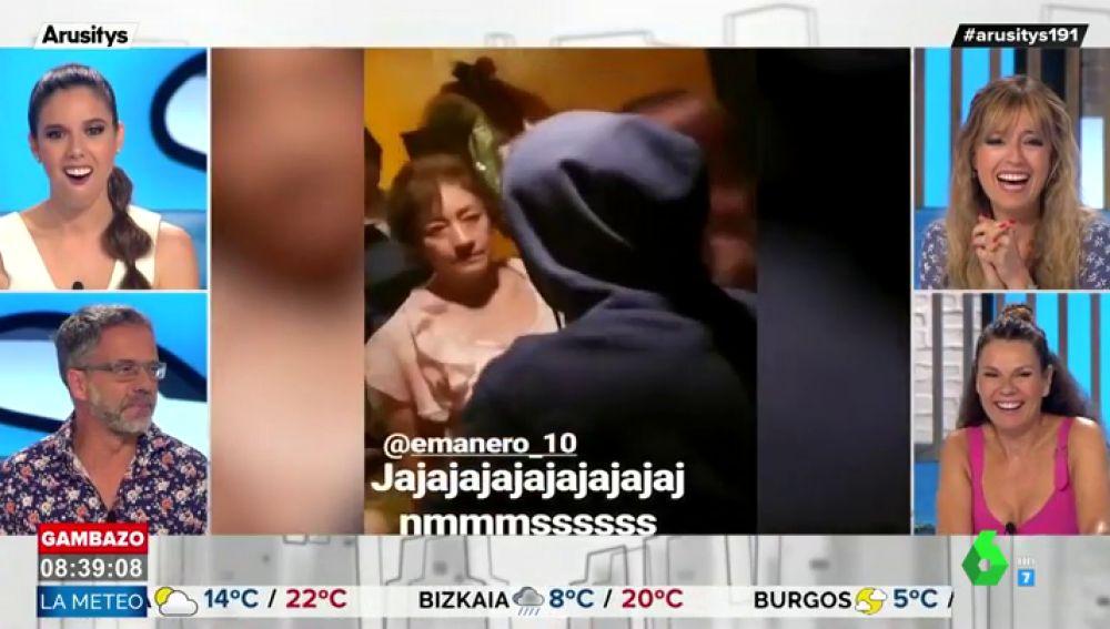 Esta es la divertida (y terrorífica) cara de una madre cuando pilla a su hijo en plena fiesta en su casa