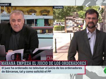 """Juan Moreno (abogado IU): """"El PP solo ha puesto trabas para ocultar toda su madeja de corrupción vinculada a Génova"""""""