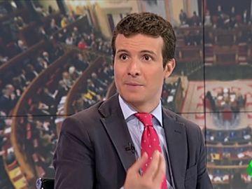 El PSOE pide coherencia a Pablo Casado