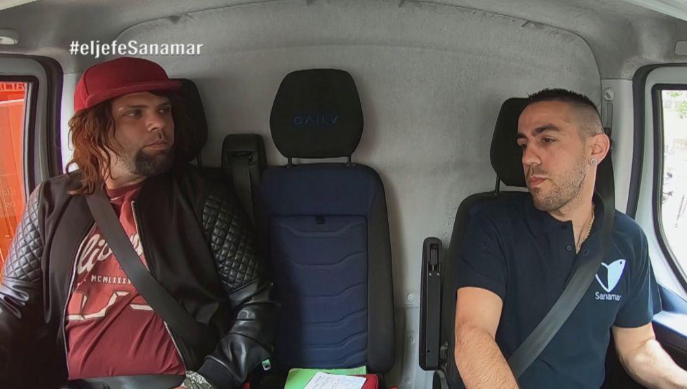 El Jefe infiltrado de Sanamar no para de alucinar con uno de sus comerciales: Sergio