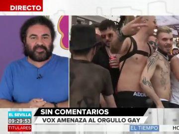La tajante respuesta de El Sevilla a la amenaza de Vox al Orgullo Gay