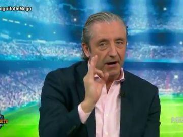 """Nuevo órdago de Josep Pedrerol: """"Si Hazard no llena el Bernabéu, mañana no presento 'El Chiringuito'"""""""
