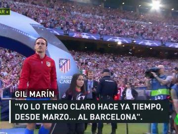 Gil Marín desvela  que Griezmann se irá al Barça