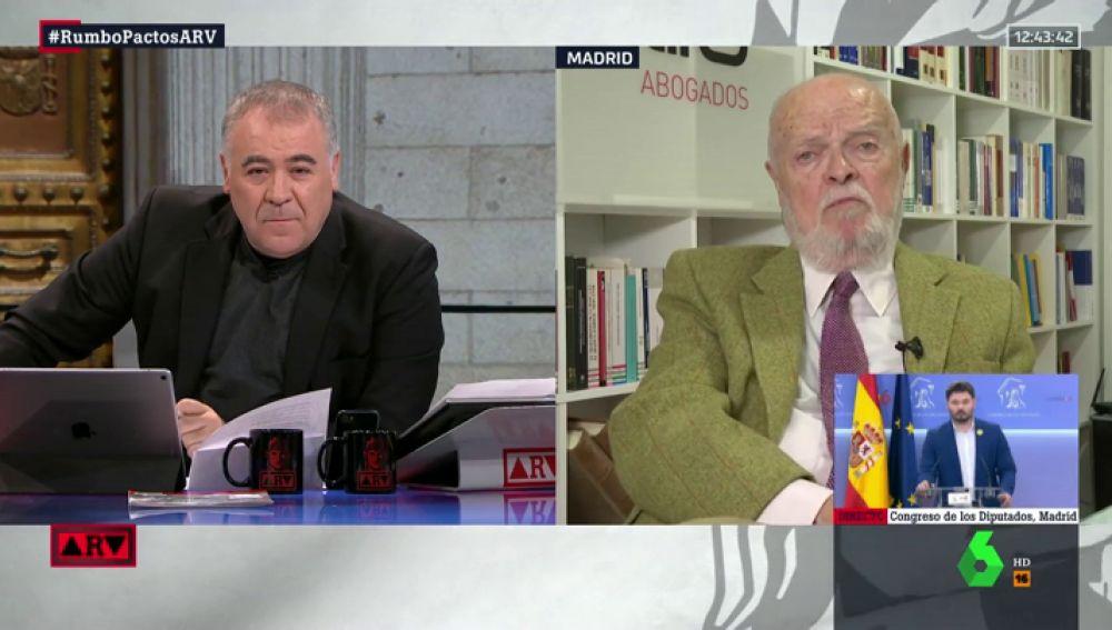 Martín Pallín responde a los dilemas del juicio del 'procés': ¿ha tenido todas las garantías? ¿Hay sedición o rebelión?