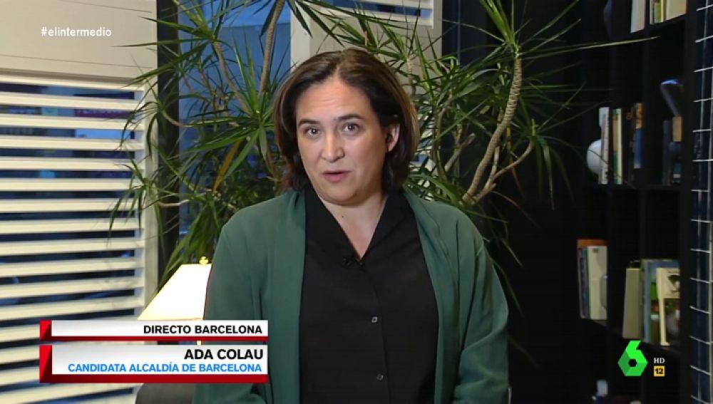 Ada Colau en El Intermedio