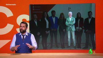 """Dani Mateo 'descubre' la estrategia del """"Napoleón naranja"""", el candidato de Ciudadanos que busca """"pillar cacho como sea"""""""