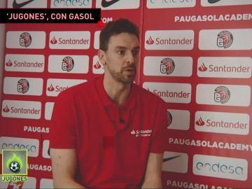 Pau Gasol atiende a 'Jugones'