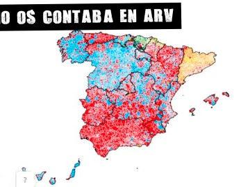 El mapa municipal de España tras las elecciones del 26M