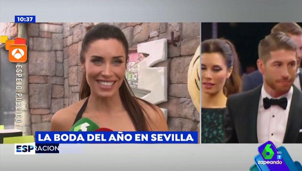 Pilar Rubio habla sobre su boda