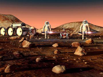Radiación Marte