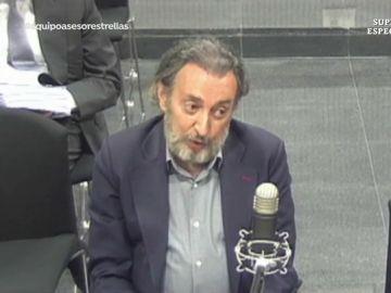 Imagen de Fernando Peña ante el juez