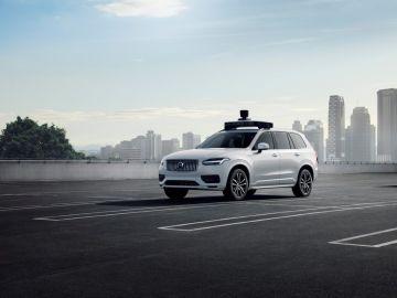 Volvo y Uber presentan su primer coche autónomo