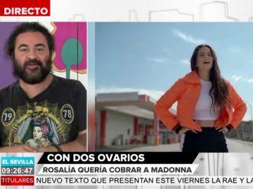 La defensa de El Sevilla a Rosalía