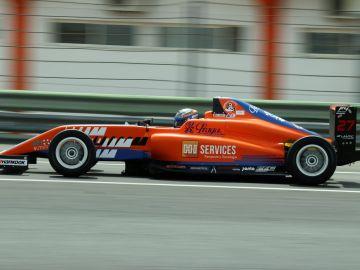 Nerea Marti, en la Fórmula 4 española en Cheste 2019