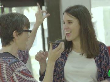 Del baile de Sonia y Selena a la confesión íntima sobre su vida con Pablo Iglesias: así ha sido el 'Servicio Público' de Irene Montero haciendo la compra