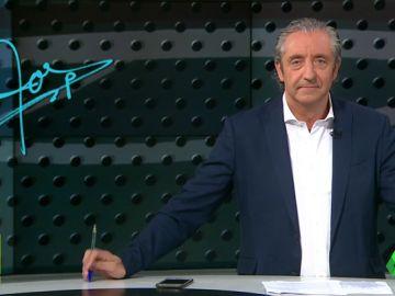 """Josep Pedrerol: """"Simeone está cambiando la historia del Atleti pero se ha quedado dos veces a las puertas de hacer historia"""""""