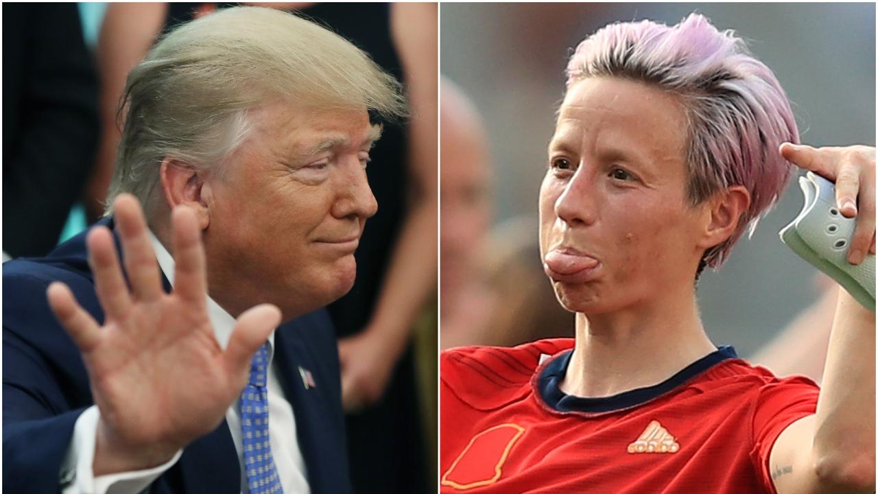 Donald Trump y Rapinoe