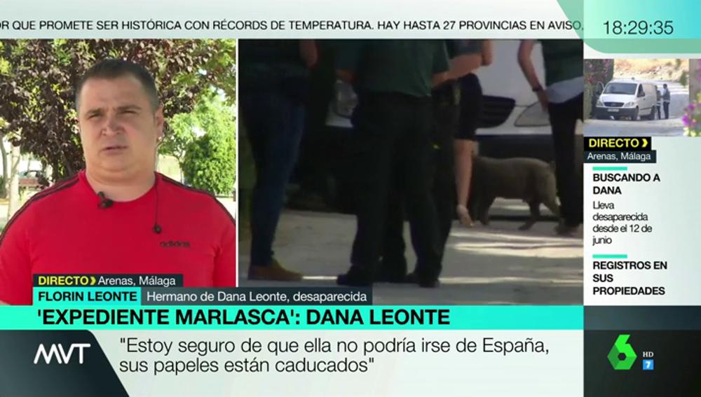 """Habla el hermano de Dana Leonte, la mujer desaparecida en Málaga: """"Creo que le ha pasado lo peor"""""""