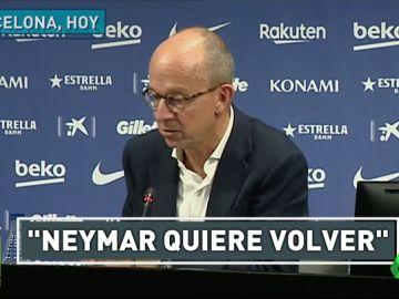 Es oficial: Neymar quiere volver al Barça