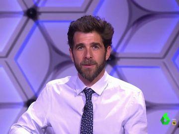 """La emotiva despedida de Gonzo en el último programa de El Intermedio: """"Han sido nueve años brutales, es un equipo acojonante"""""""