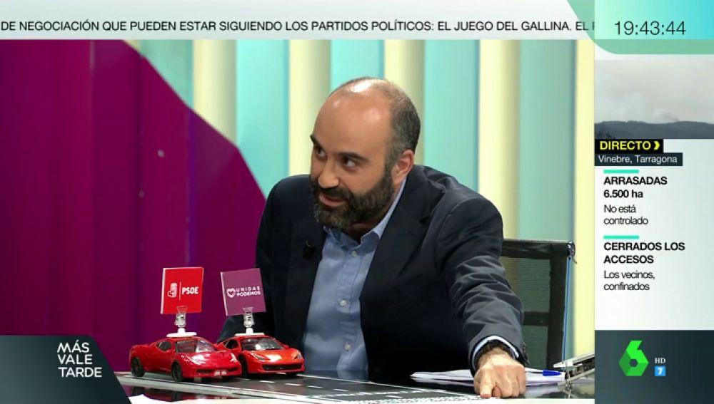 """Explicamos el """"juego del gallina"""" al estilo 'Rebelde sin causa': ¿Evitarán los políticos unas nuevas elecciones?"""