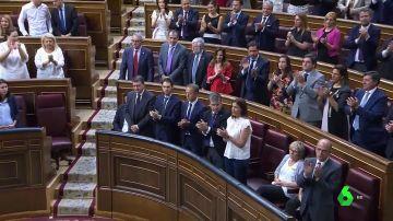La polémica por la entrevista a Otegi divide al Congreso en el homenaje a las víctimas del terrorismo