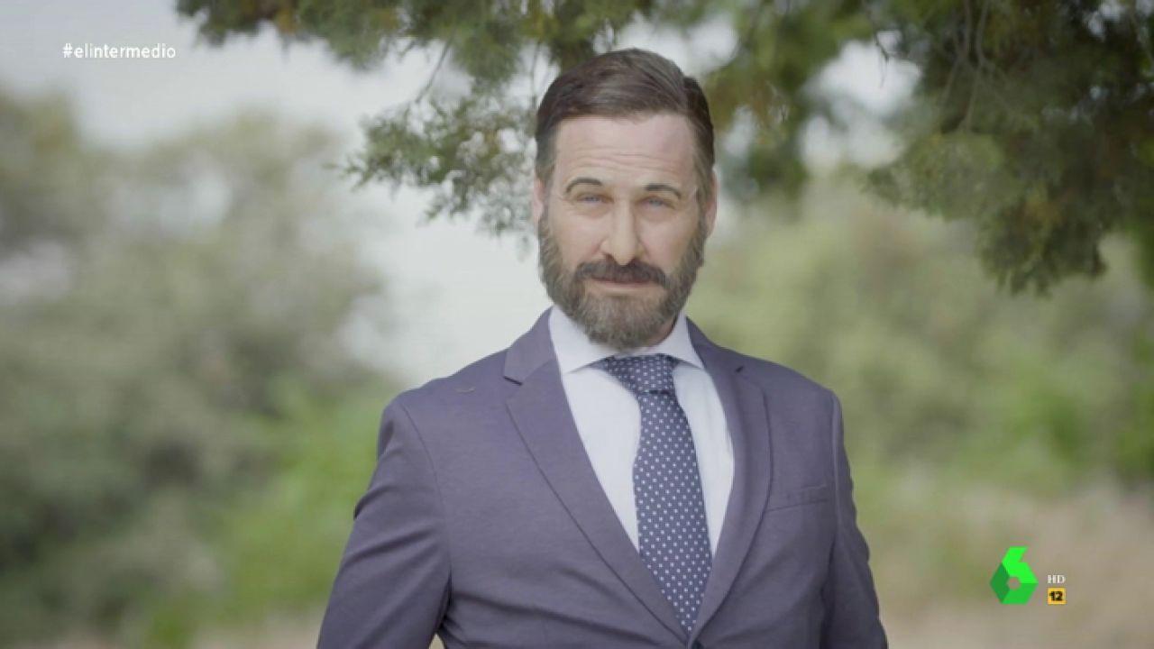 Joaquín Reyes se convierte en Santiago Abascal