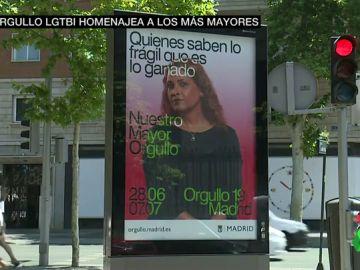 La campaña del Orgullo de Madrid homenajea a los mayores LGTBI