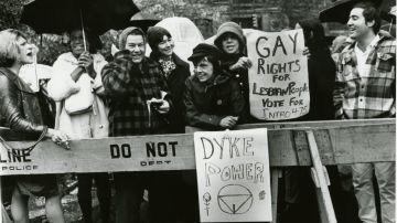 Protesta en Stonewall