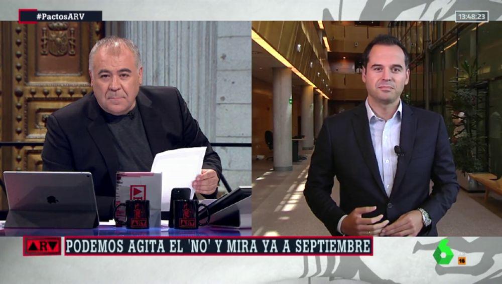 El candidato de Ciudadanos a la Comunidad de Madrid, Ignacio Aguado
