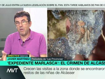 """Crecen las visitas a la zona donde se encontraron los restos de las niñas de Alcàsser: """"Van a curiosear, hacerse fotos y rebuscar en la tierra"""""""