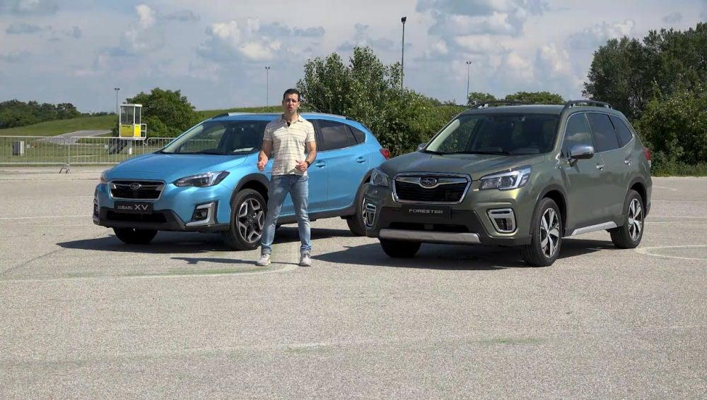 Subaru XV y Forester híbridos