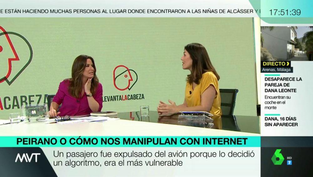 Entrevista a Marta Peirano en Más Vale Tarde