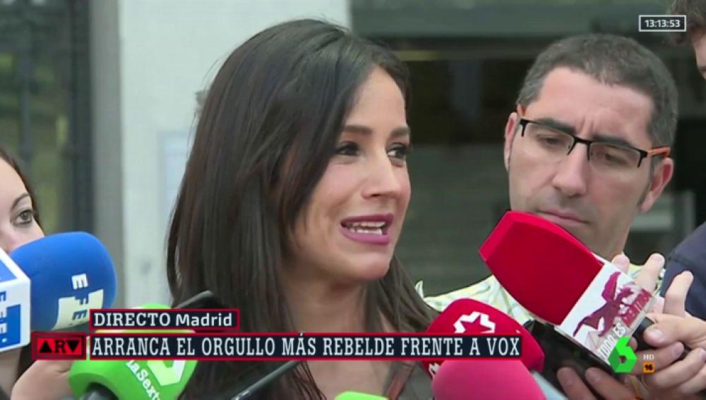 La vicealcaldesa de Madrid, Begoña Villacís